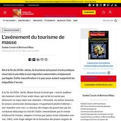 L'avènement du tourisme de masse