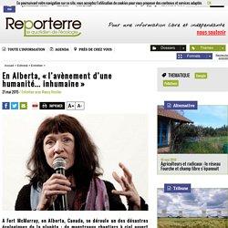 En Alberta, «l'avènement d'une humanité... inhumaine»
