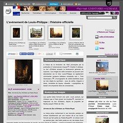 L'avènement de Louis-Philippe : l'histoire officielle