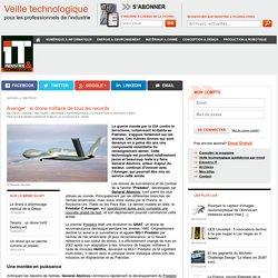 Avenger : le drone militaire de tous les records