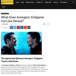 Why Did Avengers Endgame Thanos Send Gamora & Nebula To Ronan?
