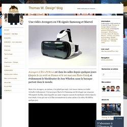 Une vidéo Avengers en VR signée Samsung et Marvel