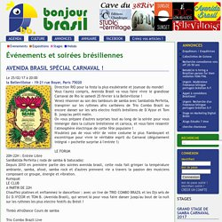 Avenida Brasil Spécial Carnaval ! - Bonjour Brasil