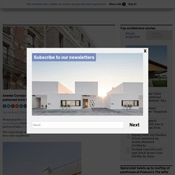 Avenier Cornejo designs Parisian apartment block with rustic brick facade