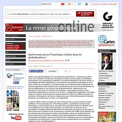 Quel avenir pour l'Amérique Latine dans la globalisation (...) - Amérique du Sud