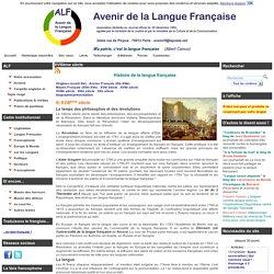 Avenir de la Langue Française (ALF)