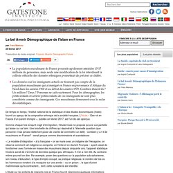 Le bel Avenir Démographique de l'Islam en France