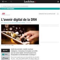 L'avenir digital de la DRH