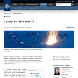 L'avenir en fabrication 3D (2015-05-05)
