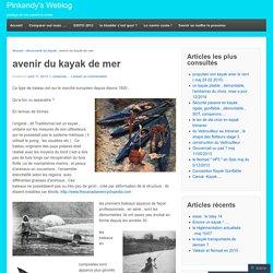avenir du kayak de mer