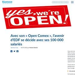 Avec son «Open Comex», l'avenir d'EDF se décide avec ses 100 000 salariés - Bluenove