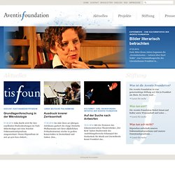 Aventis Foundation: Aventis Foundation