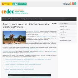 8 tareas y una aventura didáctica para vivir el Quijote en Primaria