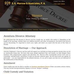 Family Divorce lawyer, South Florida