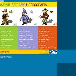 Aventura't amb l'ortografia- Català - Educació primària_ edu365.cat