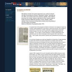 BNF Le papier en Occident