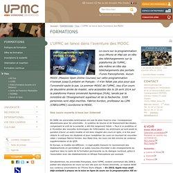 L'UPMC se lance dans l'aventure des MOOC