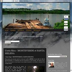 Costa Rica - MONTEVERDE et SANTA HELENA