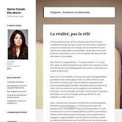Aventures en rénovation – Marie-Claude Élie-Morin