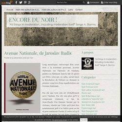 Avenue Nationale (Encore du noir)