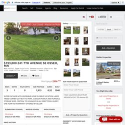 241 7th Avenue Se, Osseo, MN, 55369 - Photos, Videos & More!