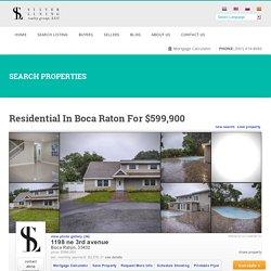 Residential in Boca Raton for $599,900