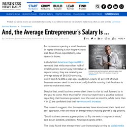 The Average Salary for Small Business Owners Is $68K