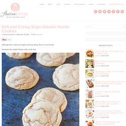 Sugar-Doodle Vanilla Cookies