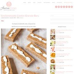 Snickerdoodle Cookie Granola Bars