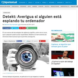 Detekt: Averigua si alguien está espiando tu ordenador