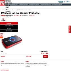 AVerMedia Live Gamer Portable Review