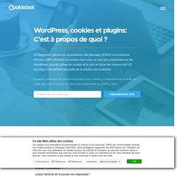 WordPress, cookies et plugins