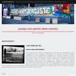 Journal d'un #antifa (parmi d'autres)