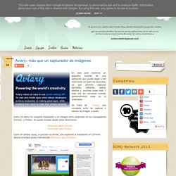 Aviary: más que un capturador de imágenes