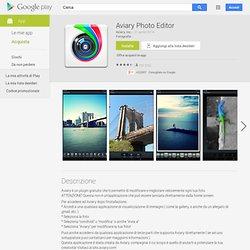 Aviary Photo Editor - App Android su Google Play