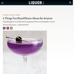 The Aviation Cocktail: 6 Things to Know