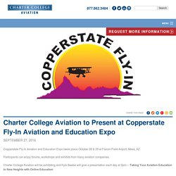 """44th Annual COPPERSTATE Fly-In Aviation & Education Expo"