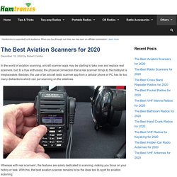 8 Best Aviation Scanners Reviewed & Rated in 2020