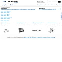 General Aviation Services and Solutions - Jeppesen