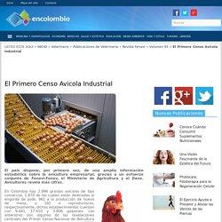 CENSO AVICOLA INDUSTRIAL, REVISTA AVICULTORES, VETERINARIA