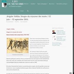 Avigdor Arikha, Images du royaume des morts / 12 juin – 12 septembre 2014