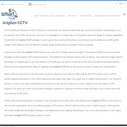 Avigilon CCTV Solutions In Hertford UK