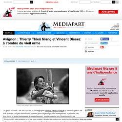 Thierry Thieû Niang et Vincent Dissez à l'ombre du vieil orme