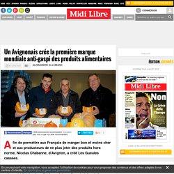 Un Avignonais crée la première marque mondiale anti-gaspi des produits alimentaires