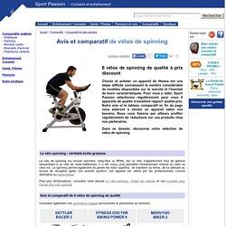 Avis et comparatif de vélos de spinning