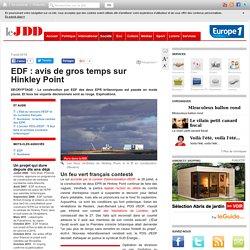EDF : avis de gros temps sur Hinkley Point
