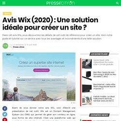Wix : avis, test et tutoriel sur cet outil complet pour créer un site web