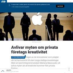 Avlivar myten om privata företags kreativitet