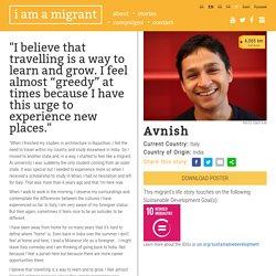 i am a migrant