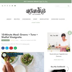 Verdure express au thon
